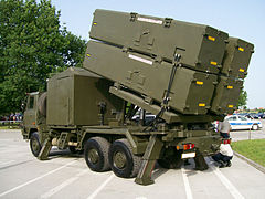 Mobile RBS-15 launcher