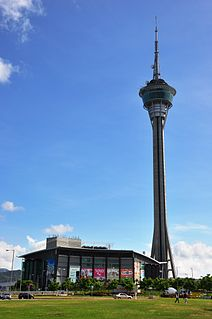 Macau Tower observation tower