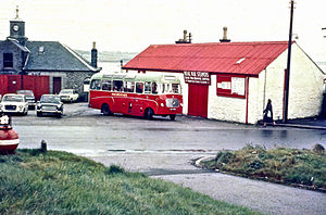 David MacBrayne - Ardrishaig 1970 when Macbrayne buses operated in many parts of the west coast and islands