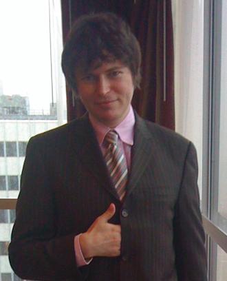 Maciej Stachowiak - Maciej Stachowiak in Boston, 2009