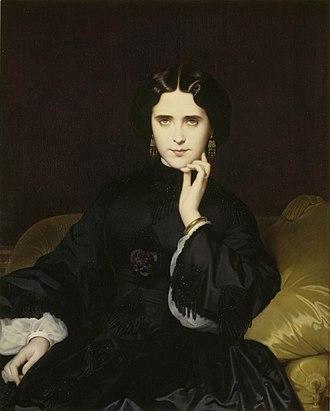 Marie-Anne Detourbay - Jeanne Detourbay, future comtesse de Loynes, by Amaury-Duval - Musée d'Orsay