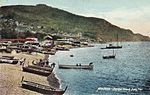 Madeira - Funchal beach from Pier, c. 1900.jpg