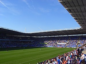 Sport in Reading, Berkshire - The Madejski Stadium, home of Reading Football Club and London Irish