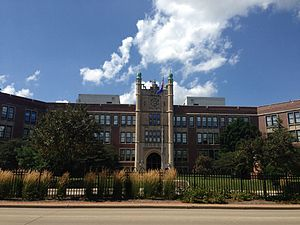 Madison East High School - Image: Madison East High School