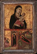 Madonna and Child with the Annunciation and the Nativity MET DP367958.jpg
