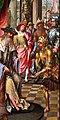 Maestro del gruppo dell'adorazione di anversa, davide che riceve l'acqua di betlemme e salomono e la regina di saba, 1515-20 ca. 03.jpg