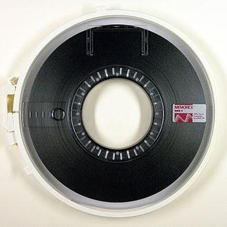 Memorex - MRX V brand Memorex magnetic tape