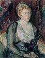 Magnus Enckell - Portrait of Mrs. Agda Vilén - A IV 3025 - Finnish National Gallery.jpg