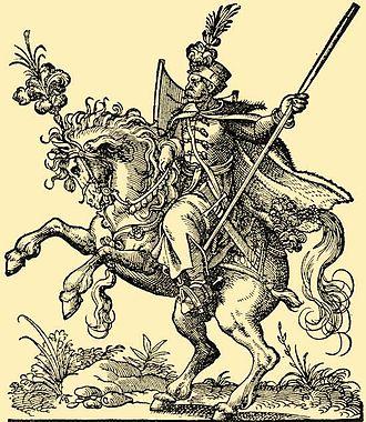 Moustache - Hungarian Hussar circa 1550.