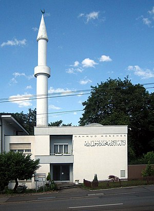 Islam in Switzerland - The Ahmadiyya mosque in Zurich (built in 1963).