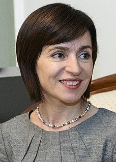 Maia Sandu President-elect of Moldova