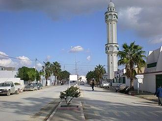 Kalâat el-Andalous - Image: Main Street Kalâat El Andalous