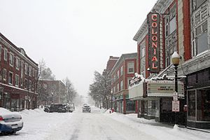 Laconia, New Hampshire - Image: Main Street Laconia, New Hampshire