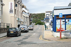 Kyle of Lochalsh - Main Street, Kyle of Lochalsh