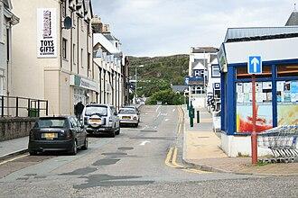 Kyle of Lochalsh - Main Street, Kyle of Lochalsh