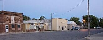 Gwinner, North Dakota - East side of Main Street