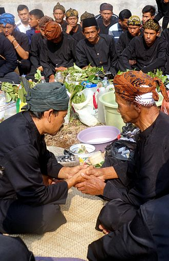 Seren Taun - Seren Tahun at the village of Malasari, Bogor Regency