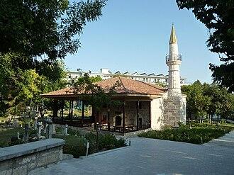 Islam in Romania - Mosque in Mangalia, with Ottoman architecture.
