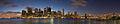Manhattan and Brooklyn Bridge Panorama, blue hour (20483149486).jpg