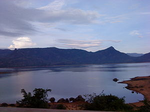 Manimuthar River - View of Manimuthar Dam in Tirunelveli District