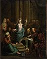 Manner of rembrandt harmensz van rijn christ among the doctors d5343274h.jpg
