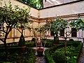 Mantova Palazzo Ducale einer der Gärten 2.jpg