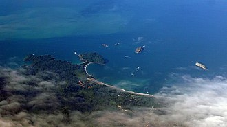 Manuel Antonio National Park - Aerial view of Manuel Antonio National Park