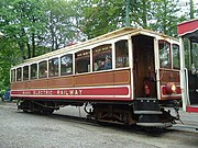 Manx electric train