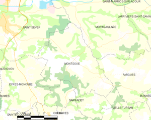 Map commune FR insee code 40196.png