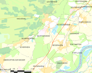 Operation Royal Marine - Soufflenheim and vicinity