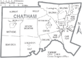 Map of Chatham County North Carolina With Municipal and Township Labels.PNG