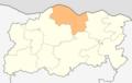Map of Gulyantsi municipality (Pleven Province).png