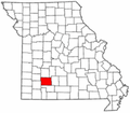 Map of Missouri highlighting Greene County.png