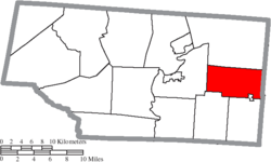 Location of Beaver Township in Pike County