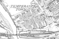 Map of Temperance Town, Cardiff, Ordnance Survey, 1875-1882.png