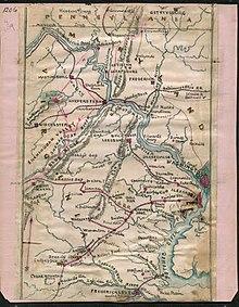 Potomac River - WikipediaPotomac River Map With States
