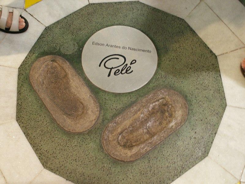 Ficheiro:Maracanã Pelé footprints.jpg