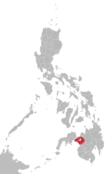 Maranao language map.png