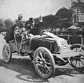 Marcel Renault vainqueur de Paris-Vienne 1902 sur Renault Type K.jpg