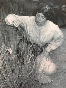 cf4f0d7957c1 Actress Marcia Quick as Gene Stratton-Porter in a 1994 production of A Song  in the Wilderness
