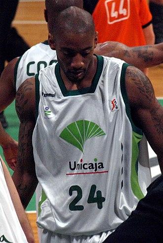 Marcus Haislip - Haislip with Unicaja Málaga.