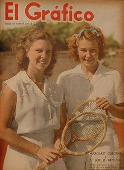 Margaret Osborne y A. Louise Brough. - El Gráfico 1428.jpg
