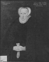 Margareta Sture, 1547-1617,  gift Bielke