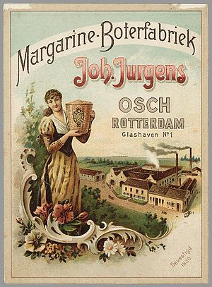 Margarine - Margarine advertising, 1893