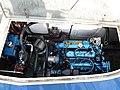 Marine diesel engine with hydraulic machinery.jpg