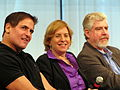 Mark Cuban, Vivian Schiller, Bob Garfield - Future of Media summit from MediaPost - September 2009 (3947593143).jpg