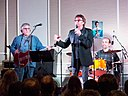 Mark Lindsay performing at the MegaFest Nov 2013.JPG