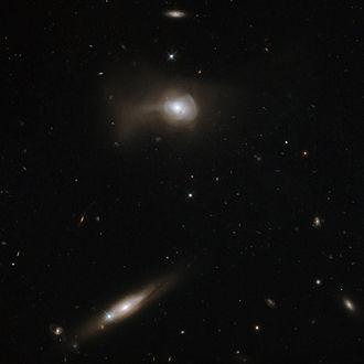 Galaxy merger - Image: Markarian 779