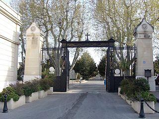 cemetery located in Bouches-du-Rhône, in France
