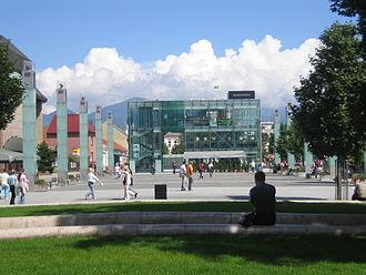 Martin, Slovakia - City center of Martin